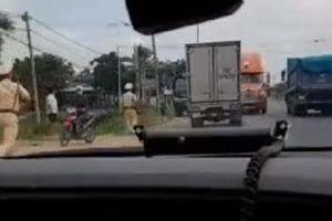 Bắt giữ tên trộm liều lĩnh phóng xe bạt mạng trên Quốc lộ