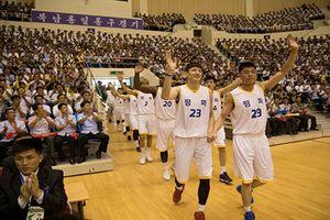 Cận cảnh màn 'ngoại giao bóng rổ' giữa Hàn Quốc và Triều Tiên