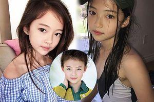 Thiên thần lai 10 tuổi xinh đẹp khiến showbiz Hàn 'dậy sóng'