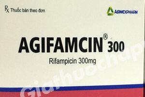 Hà Nội: Đình chỉ lưu hành thuốc viên nang cứng Agifamcin 300mg