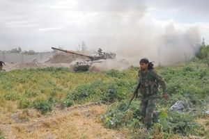 Quân đội Syria giáng đòn tấn công quy mô lớn trên khắp Dara'a