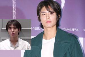 Fan hoang mang vì kiểu tóc mới của nam thần Park Bo Gum quá sức 'sến sẩm'