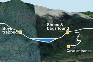 Thái Lan: Khoan lỗ từ bên trên hang động cứu đội bóng nhí
