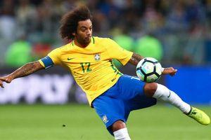 Marcelo trở lại, Brazil sẵn sàng nghênh chiến cùng đội Bỉ