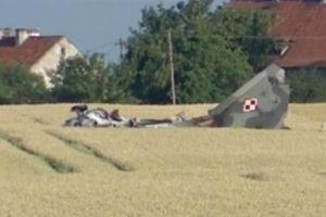 MiG-29 Ba Lan rơi gần Nga khi làm nhiệm vụ đêm