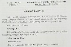 Thanh tra Bộ Công an (V24) vào cuộc vụ 'Xe vua ở Hải Dương'