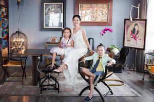 Sau ly hôn, Hồng Nhung tìm bình yên bên các con