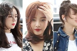 Red Velvet xinh đẹp nổi bật, lấn át dàn sao nam Kpop tại sân bay