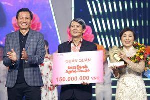 Nghệ sĩ Bảo Trí - Kim Tuyết đoạt quán quân Gia Đình Nghệ Thuật 2018