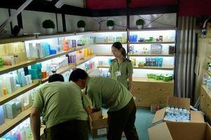 Hà Nội: Thu giữ hàng nghìn sản phẩm mỹ phẩm vi phạm