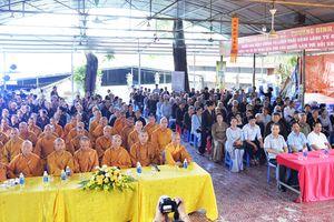 Lào Cai: Lễ khai pháp hạ trường chùa Cam Lộ