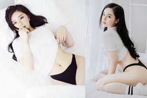 'Hot girl ngủ gật' tiết lộ số đo ba vòng 'cực khủng', Ngọc Trinh cũng chào thua!