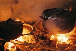 Nhìn căn bếp nhỏ nhớ mùa khói lam chiều