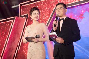 Á hậu Diễm Trang đẹp rạng rỡ, trổ tài dẫn chương trình lưu loát