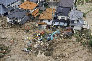 Mưa lũ ở Nhật Bản khiến ít nhất 46 người chết và 50 người mất tích