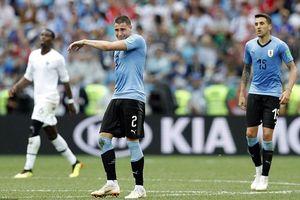 Bật khóc trong trận, cầu thủ Uruguay bị mỉa mai là 'đáng xấu hổ'