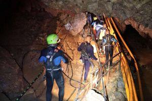 Chiến dịch cứu đội bóng Thái tiếp tục trong 10-20 giờ tới