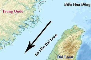 Mỹ bất ngờ đưa tàu chiến đi qua eo biển Đài Loan bất chấp cảnh báo của Trung Quốc