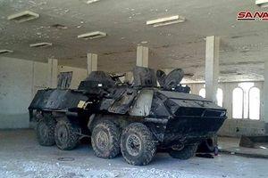 Quân cảnh Syria chiếm giữ lượng lớn vũ khí ở cửa khẩu biên giới Jordan