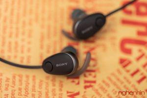 Trải nghiệm tai nghe không dây Sony WI-SP600N: khẳng định vị thế