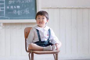 Cậu bé 3 tuổi Nhật Bản 'đốn tim' dân mạng vì quá đáng yêu