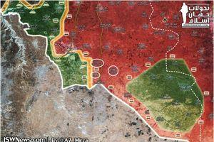 Cập nhật cuộc chiến của quân đội Syria trên chiến trường Tây Nam