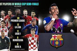 Biếm họa 24h: NHA chi phối bán kết World Cup, sao Brazil 'trốn' Barca
