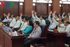 Ông Nguyễn Nho Trung được bầu giữ chức Chủ tịch HĐND TP Đà Nẵng
