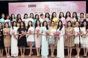 6 thí sinh Hoa hậu Việt Nam 2018 chưa có kết quả tốt nghiệp THPT