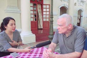 Cựu binh Mỹ James G.Zumwalt nói về việc mua bản quyền sách Gạc Ma - Vòng tròn bất tử