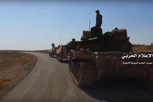 'Hổ Syria' chủ công nghiền nát thánh chiến dọc biên giới Jordan, góc nhìn từ phương Tây