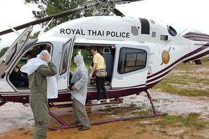 Toàn bộ đội bóng Thái Lan đã được giải cứu thành công