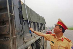 Thanh Hóa: Cắt thùng, hạ tải xe vi phạm tại chỗ