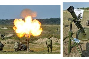 Cối nội địa Ukraine tự sát thương quân mình