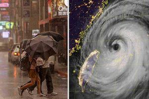 Siêu bão Maria tấn công Đài Loan, Trung Quốc 'nín thở'