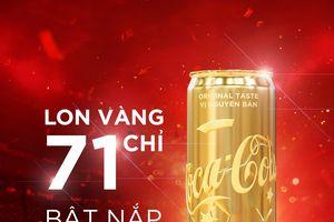 Săn lon vàng mùa World cup cùng Coca-Cola: giấc mơ có thật