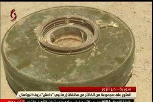 Syria: Bí mật bên trong kho vũ khí lớn IS chôn giấu ở Deir Ezzor