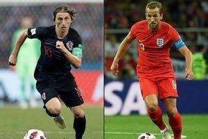 5 cầu thủ đáng xem ở trận bán kết giữa Anh và Croatia