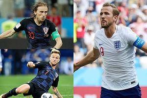 10 cầu thủ xuất sắc nhất của Croatia và Anh: Kane 'che mờ' Modric