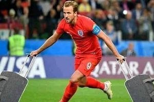 Loạt ảnh châm biếm sự ảo tưởng của tuyển Anh sau trận thua đau