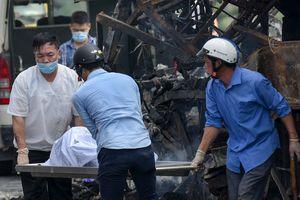 Gia cảnh thương tâm của thai phụ chết cháy trên xe khách