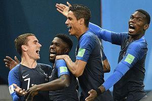 Pháp áp đảo đội hình tiêu biểu bán kết World Cup 2018
