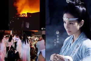 Cháy phim trường Hoành Điếm nơi Lý Nhược Đồng đóng phim, hai người thiệt mạng