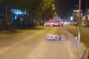 'Hung thần' container va chạm xe máy, 1 người tử vong