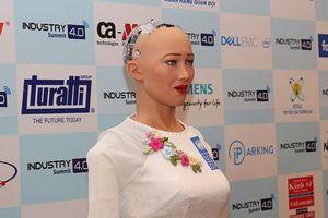 Công dân robot Sophia 'hứa' không tranh việc của con người