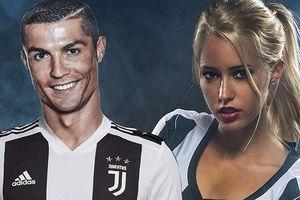 Hotgirl của Juventus chào đón Ronaldo gia nhập Bà đầm già thành Turin