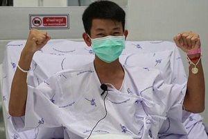Từ giường bệnh, đội bóng nhí Thái Lan gửi lời cảm ơn lực lượng cứu hộ