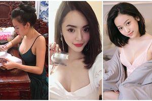 3 Hot girl Việt sexy đình đám nhất hiện nay: Lại dùng chiêu độc để bán hàng online