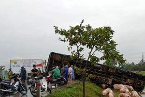 Nghệ An:Hai xe tải đâm nhau, 3 người bị thương