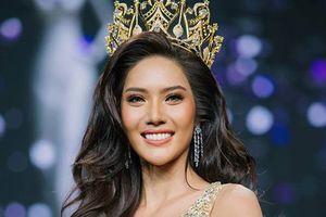 Nhan sắc cô gái cao 1m8 đăng quang Hoa hậu Hòa bình Thái Lan
